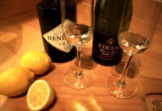 Lemon, gin Prosecco 3