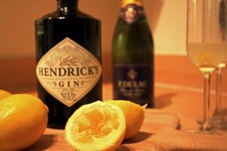 Lemon, gin prosecco 1