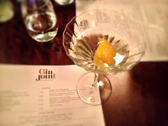 Gin Joint, a gin tour of London